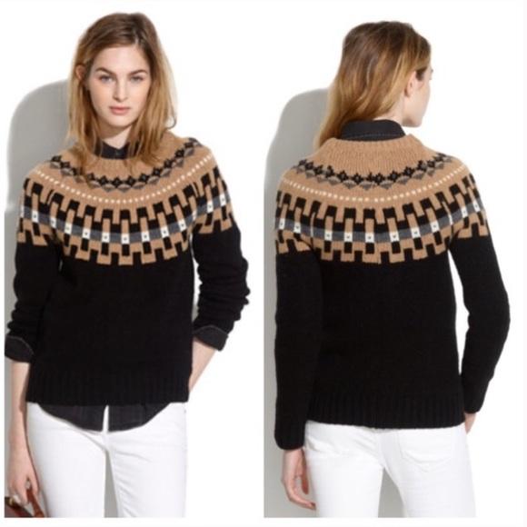 d95cf8b18a57 Madewell Sweaters - Madewell Fair Isle Wool Sweater